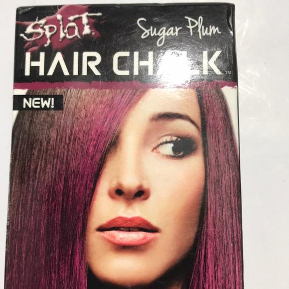 🌹 NIB Splat Burgundy Hair Chalk